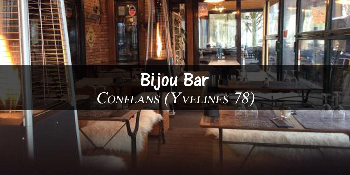 Carte des rhums disponibles au Bijou Bar de Conflans