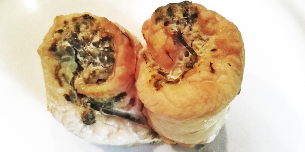 Roulés d'aiguillettes de poulet aux épinards et ricotta (express)