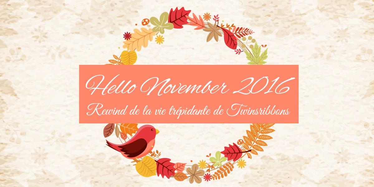 Hello november 2016