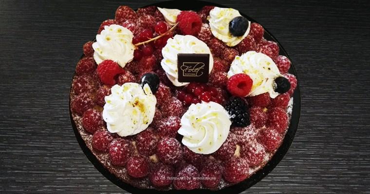 J'ai testé pour vous : la tarte sablée aux framboises – Boulangerie Les Délices de la gare – Pontoise