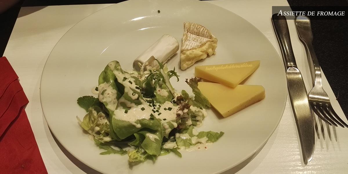 J'ai testé pour vous : l'assiette de fromage – Restaurant Le 8