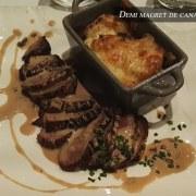 Demi magret de canard – Restaurant Le 8