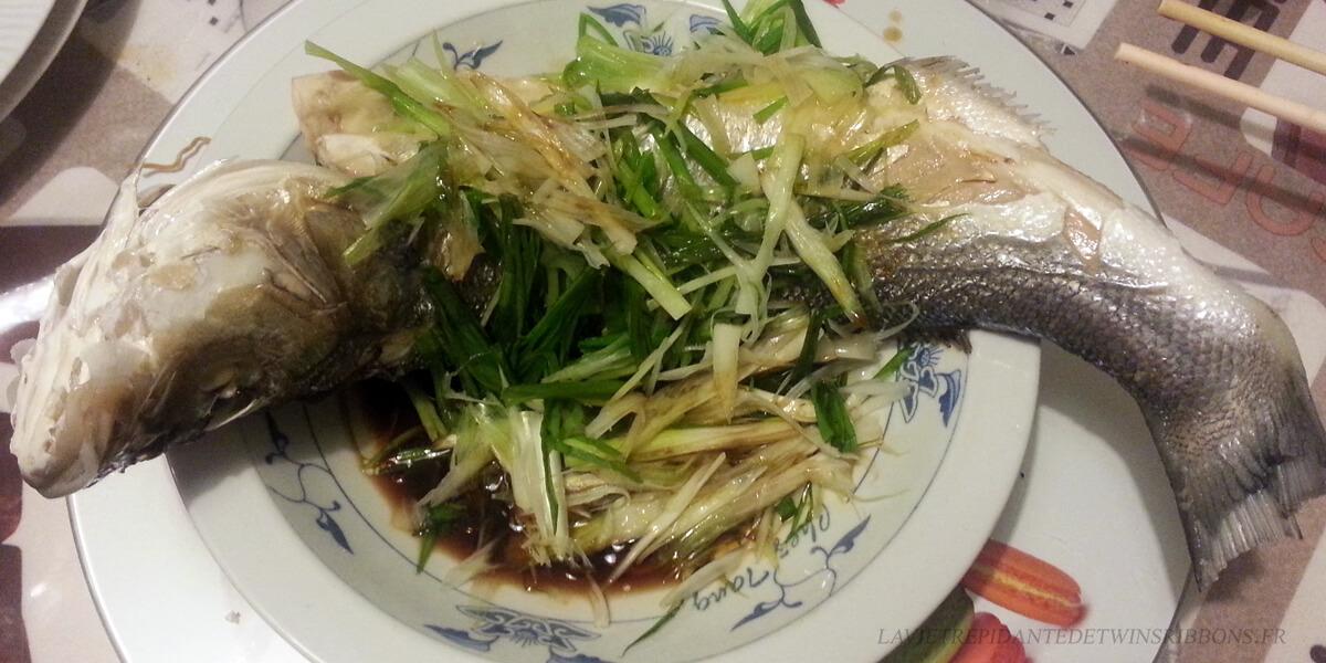 poisson vapeur à la cantonaise – 粤式蒸鱼