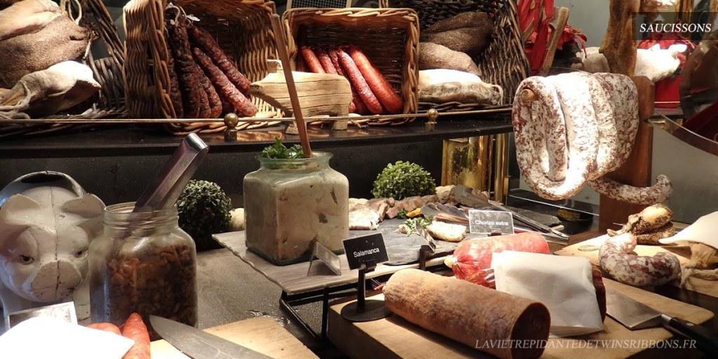 buffet saucissons - les grands buffets de Narbonne
