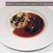 gigot d'agneau rôti au thym – le restaurant La Bourgogne
