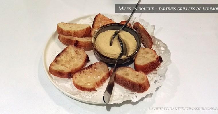 J'ai testé pour vous : l'houmous – le restaurant La Bourgogne