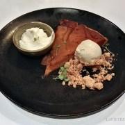 tarte tatin maison – le restaurant La Bourgogne