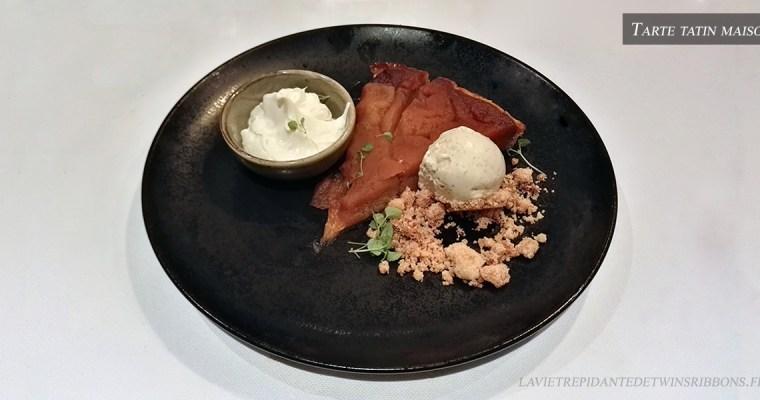 J'ai testé pour vous : la tarte tatin maison – le restaurant La Bourgogne