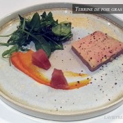 foie gras de canard maison mi-cuit – restaurant de La Bourgogne