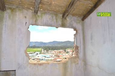 Los afectados demandaron al municipio. La Villa.
