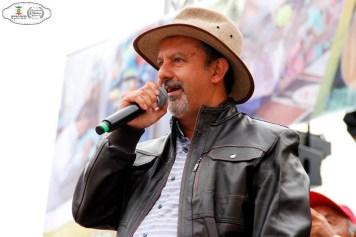 El alcalde de la ciudad, Luis Alfonso Rodríguez Valbuena, invitó a los turistas a hacerse partícipes. Prensa Zipaquirá.