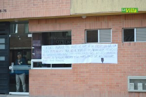 Las protestas por lo sucedido no se hicieron esperar. La Villa.