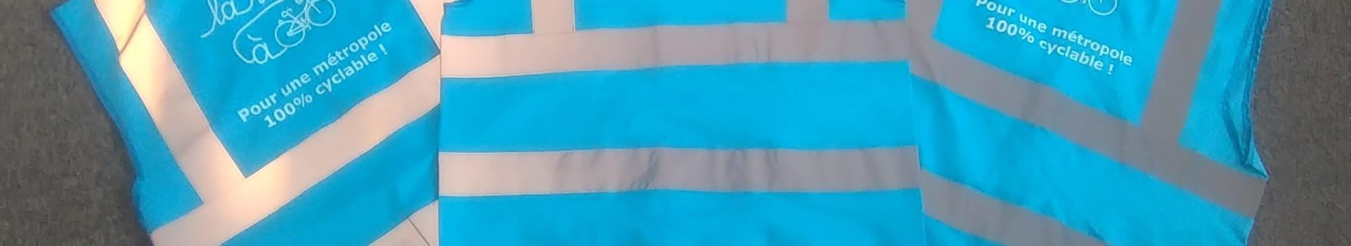 Lassés du jaune ? La Ville à Vélo lance ses gilets bleus !