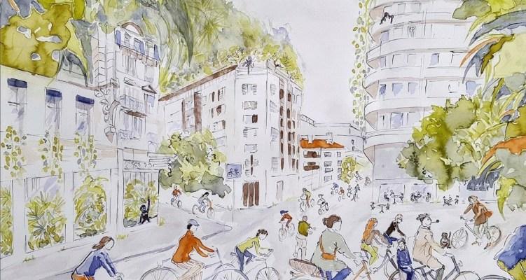 Ateliers de dessins parents-enfants « Ville 30 – Ville vivante »