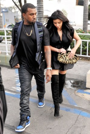 kim kardashian and kanye west 231212