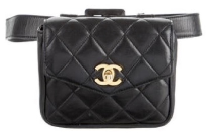 dcad05021634 ... Chanel Waist Pack Fanny Pack Materasse Lambskin ...