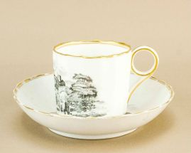 1830s coffee cup