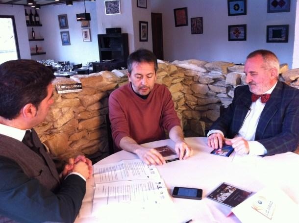 Grabacion de LaVisita con Rafa Castejon y Daniel Merino en Larruzz (52)