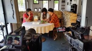 Programa con el escritor Andres Pascual en Larruzz, con Jon Fano y JabierCalle (11)