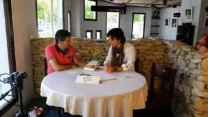 Programa con el escritor Andres Pascual en Larruzz, con Jon Fano y JabierCalle (4)