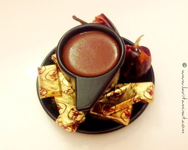 Champurrado de chocolate. Foto: Brenda Storch