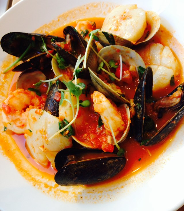 Chef Aleman's cioppino at Sophie's.