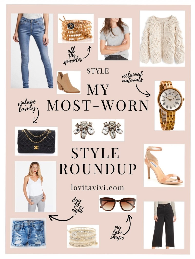 MY MOST-WORN STYLE ROUNDUP