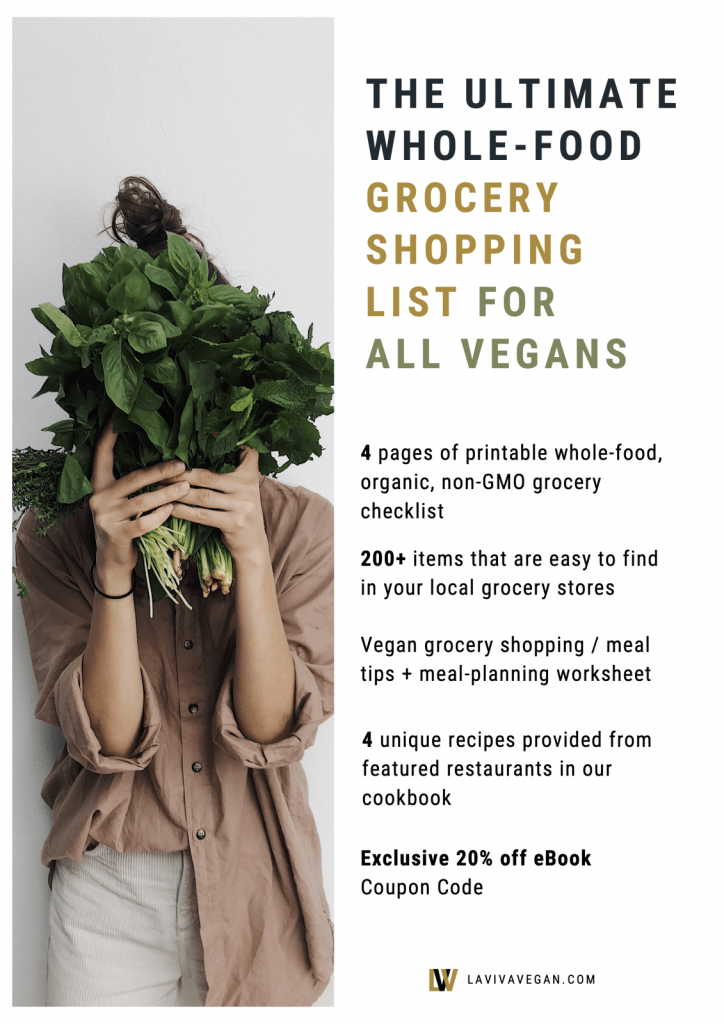 The Ultimate Whole Food Vegan Grocery Shopping List