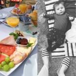 Frühstück und Babies <3