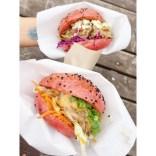 Burger von Felicitas Then beim Street Food Festival