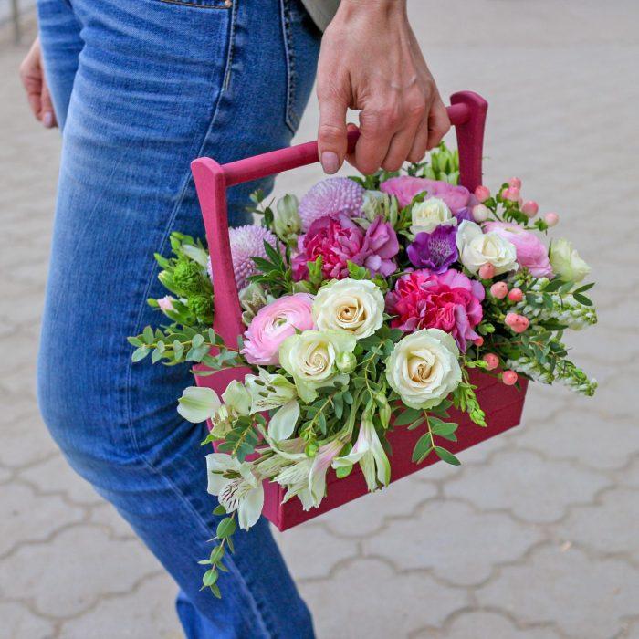 Цветы в ящике Уфа