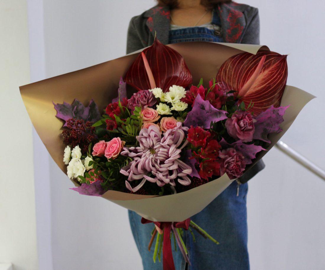 Цветочная мастерская в Уфе
