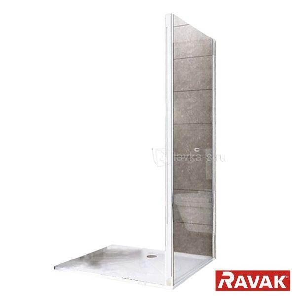 Неподвижная стенка Ravak Rapier Transparent PPS-90 белый