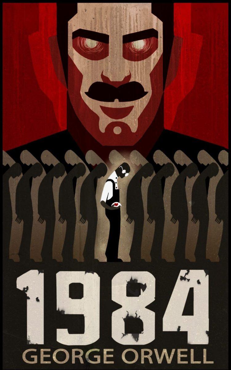 """""""1984"""" небольшая аннотация к книге"""