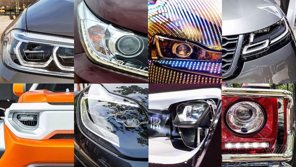 Дизайн автомобилей: Фары 2017 года