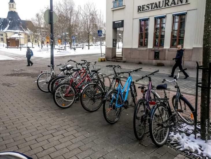 Отказ от машин в пользу велосипедам