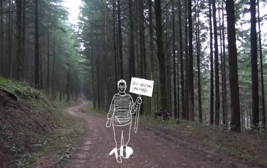 La Forêt est à nous: itinéraire d'une prise de conscience militante