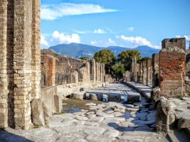 Walking through History in Pompeii