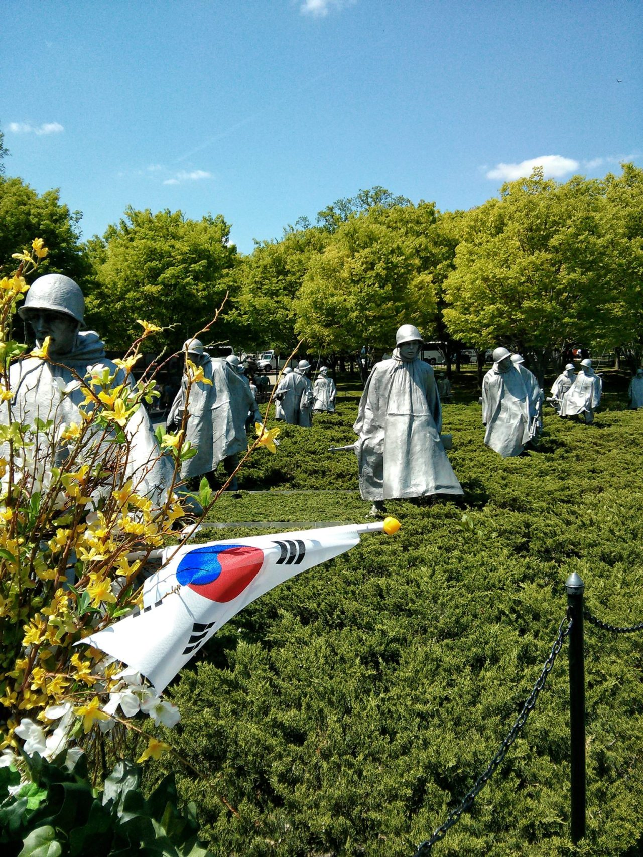 Korean War Veterans Memorial, Washington DC