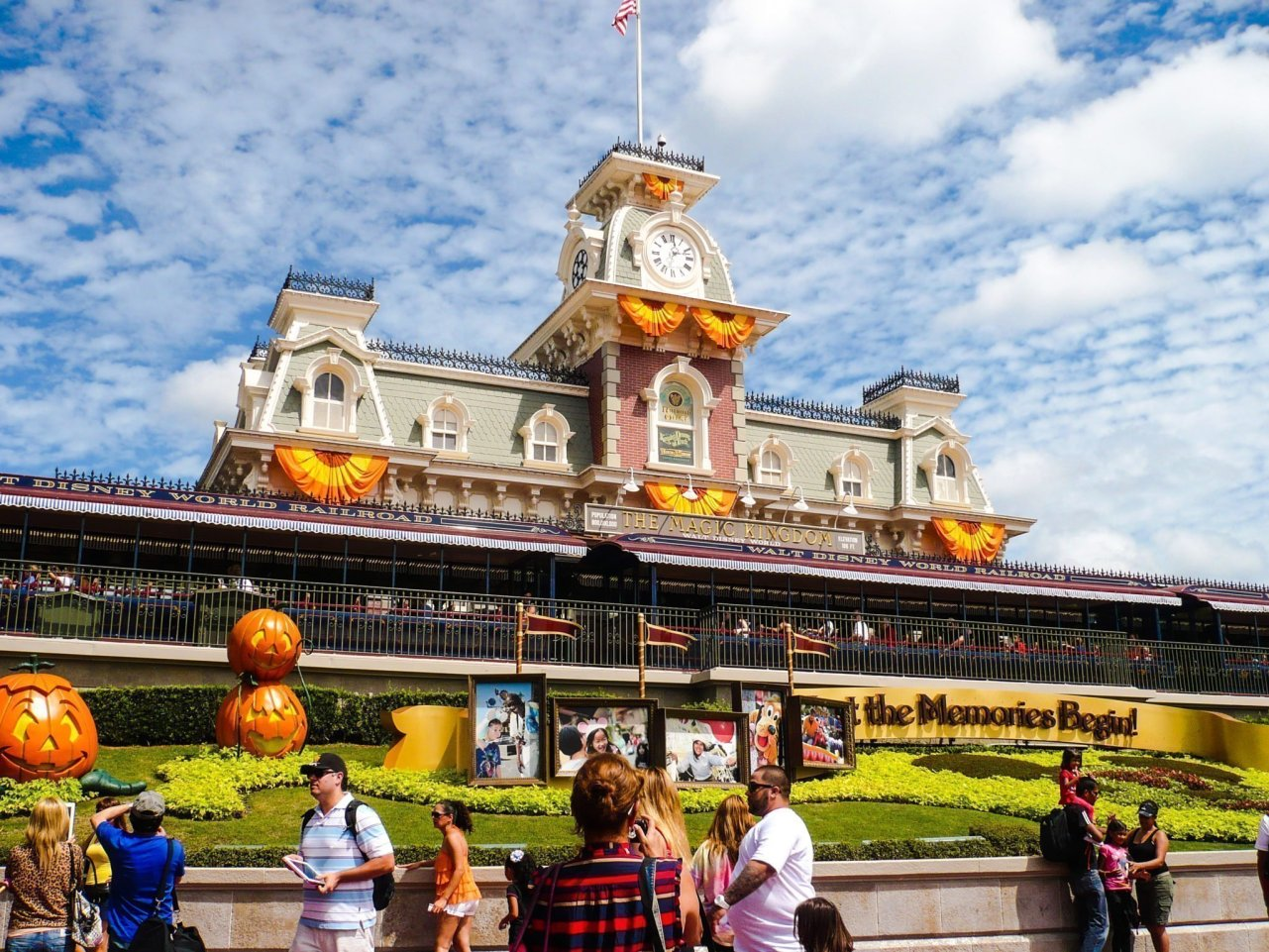Magic Kingdom Station, Walt Disney World.