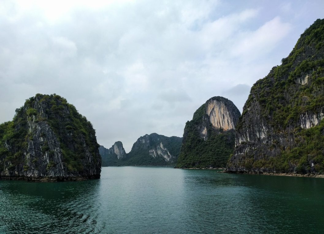 Halong Bay by day