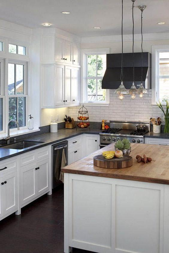 White Kitchen Cabinets: Wall Color Ideas | Page 18 of 21 ...
