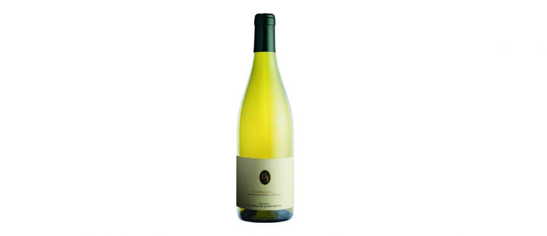 bouteille de vin blanc cuvée BJ