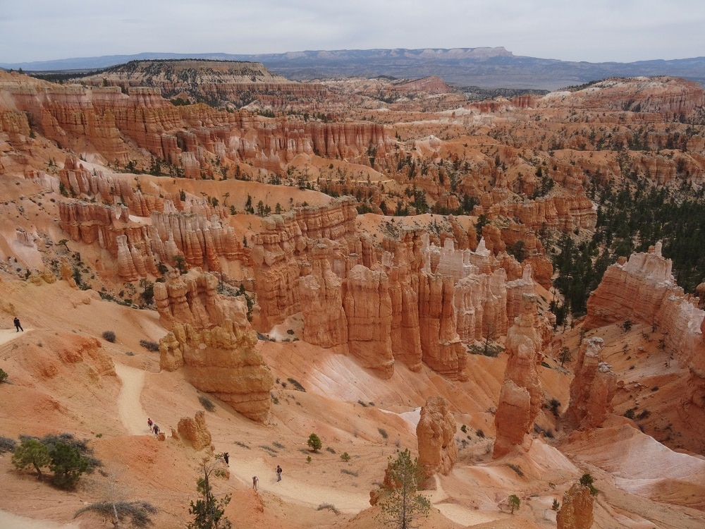 Le parc national de Bryce Canyon dans l'Utah