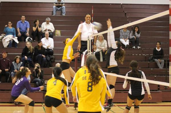 De anza volleyball rallies: The Dons play it close until ...