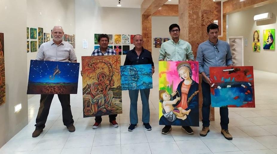 De Campoalegre es oriundo uno de los cinco artistas que exponen sus obras en México - Noticias