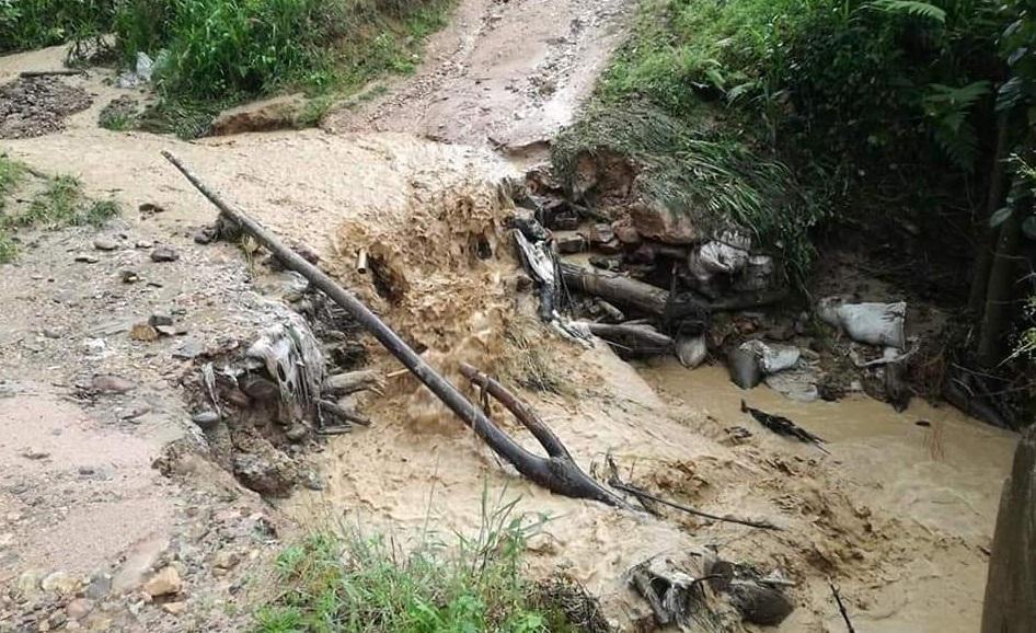 Emergencia vial en San Adolfo Acevedo - Noticias