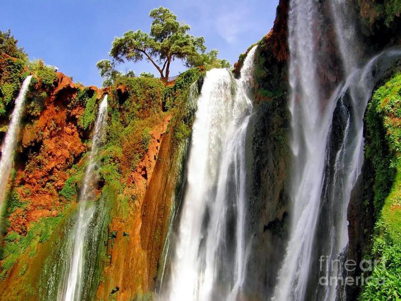 Cascadas y cataratas en África