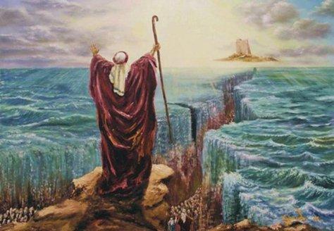 """El """"Milagro"""" de las Separación de las Aguas"""