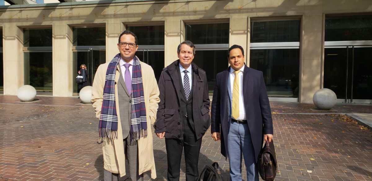 Comisión PRM entrega a la OEA informe detallado sobre violación al debido proceso contra sus dirigentes implicados en el país en el caso odebrechet.